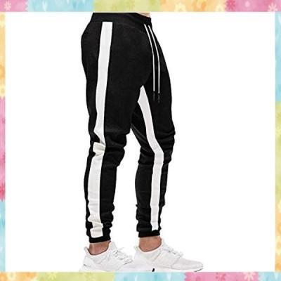 TOTNMC ジョガーパンツ メンズ トレーニングズボン フィットネス ロングパンツ ジム スウェットパンツ ストレッ