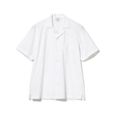 シャツ ブラウス TRAIANO / ホワイト オープンカラーシャツ