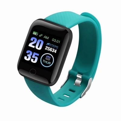 116プラススマート 腕時計 血圧測定心拍数モニターD13スマート1.3インチ高解像度の画面