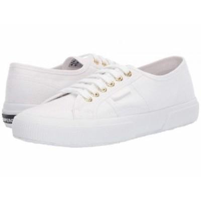 Superga スペルガ レディース 女性用 シューズ 靴 スニーカー 運動靴 2750 COTU Classic Sneaker White/Gold【送料無料】