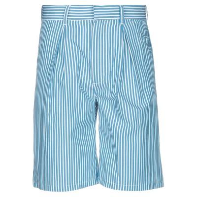 ステューシー STUSSY バミューダパンツ ブルー 3 ポリエステル 65% / コットン 35% バミューダパンツ