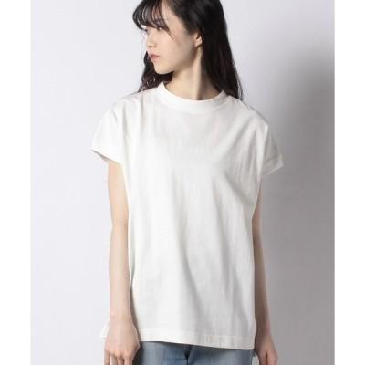 【メラン クルージュ】【Melan Cleuge women】【USAコットン】フレンチスリーブTシャツ