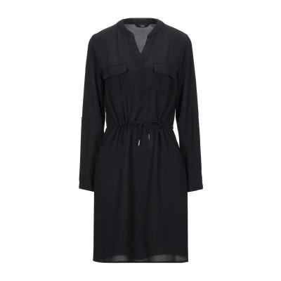 ONLY ミニワンピース&ドレス ブラック 38 ポリエステル 97% / ポリウレタン 3% ミニワンピース&ドレス
