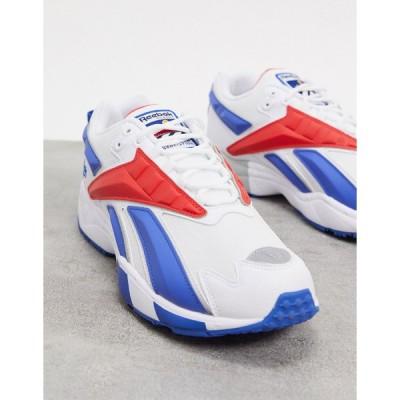 リーボック スニーカー メンズ Reebok classics INTV 96 trainers in retro white エイソス ASOS ホワイト 白