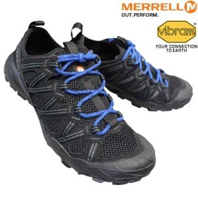メレル MERRELL J033531 チョップロック ブラック/コバルト CHOPROCK メンズ スニーカー アウトドアシューズ ローカット トレイルランニ