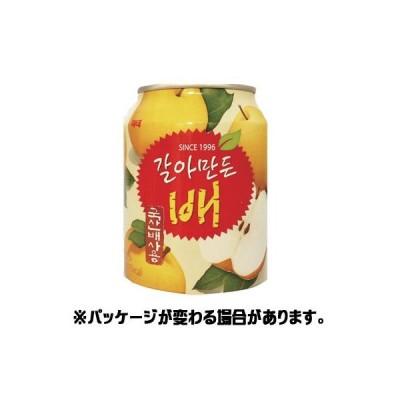 おろし梨ジュース(缶) 238ml <韓国ドリンク・韓国ジュース>