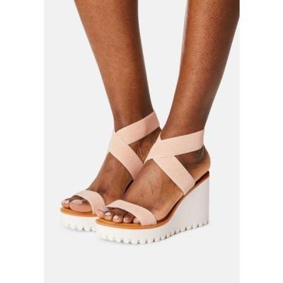 マッデンガール レディース 靴 シューズ CARLOTTE - Platform sandals - blush