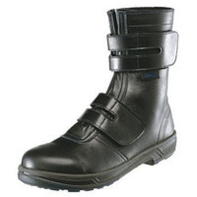 8538N-27.0 シモン 安全靴 マジック式 8538黒 27.0cm WO店