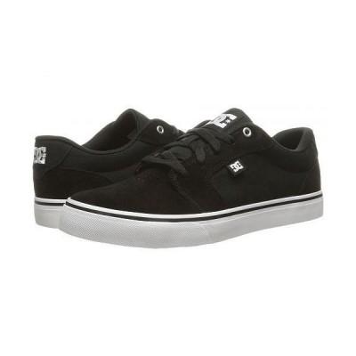 DC ディーシー メンズ 男性用 シューズ 靴 スニーカー 運動靴 Anvil - Black/White/Black