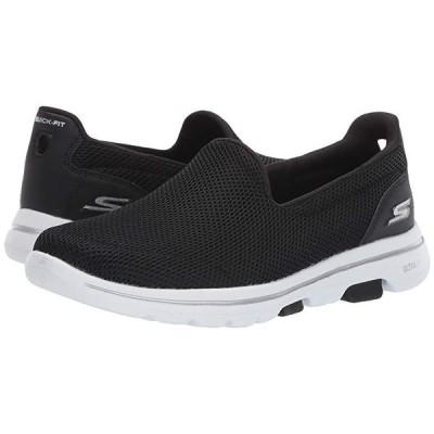 スケッチャーズ Go Walk 5 - 15901 レディース スニーカー Black/White
