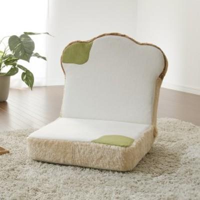 日本製 座椅子 パン座椅子 カビ コンパクト 2人掛けソファ ソファ イス 食パン型 かわいい おしゃれ 姫系 メロンパン 食パン トースト(代