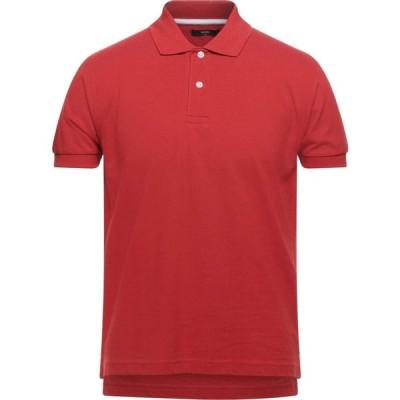 ダンディ DANDI メンズ ポロシャツ トップス polo shirt Red
