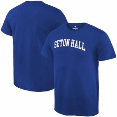 Fanatics Branded ファナティクス ブランド スポーツ用品  Fanatics Branded Seton Hall Pirates Royal Basic Arch Expansion T-Shirt