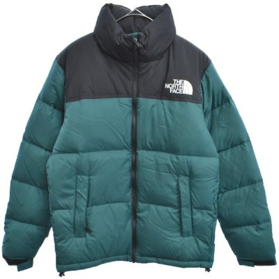THE NORTH FACE (ザノースフェイス) ND91841 Nuptse Jacket ヌプシ中綿ダウンジャケット グリーン