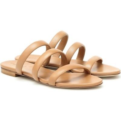 アイデ Aeyde レディース サンダル・ミュール シューズ・靴 chrissy leather sandals Hazelnut
