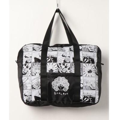 エコバッグ バッグ 3柄ポケッタブル キャリーオンバッグ