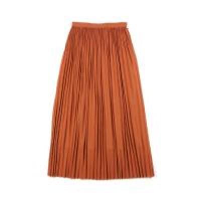 SACRA(サクラ)SACRA サクラ ウール混  ロングスカート プリーツスカート 117500121 36(S/M) ブリック(380)