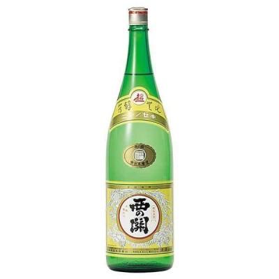 日本酒 西の関 本醸造 福印 1.8L 1800ml x 6本(ケース販売)(萱島酒造 大分県)