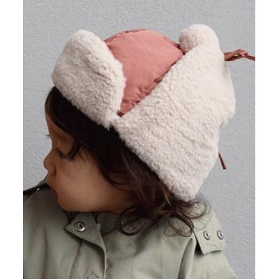 babybaby / 【LITTLE GRIN BUDDY/リトルグリンバディ】ポンポン付きフライトキャップBaby Totes Adorbs Flight Cap KIDS 帽子 > キャップ