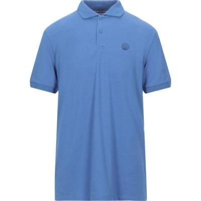 ピープルオブシブヤ PEOPLE OF SHIBUYA メンズ ポロシャツ トップス Polo Shirt Azure