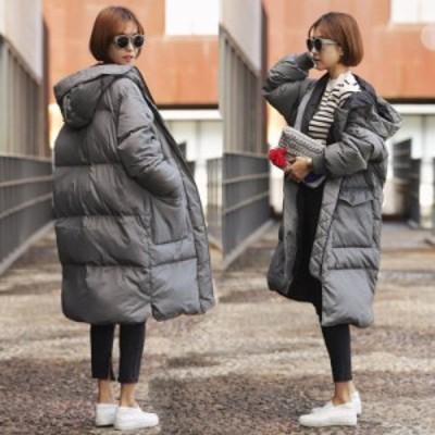 冬アウター ロング丈 ダウンコート ロング レディース ダウンジャケット ロングコート あったか 大きいサイズ 秋冬 軽量 中綿