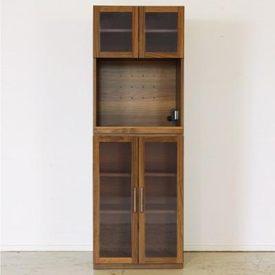 東馬 エフィーノ ガラスOP+ガラス扉 [食器棚] キッチン収納