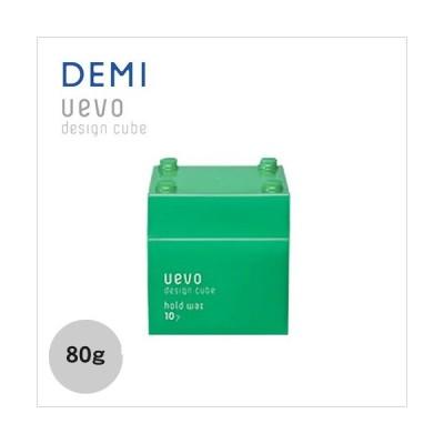 デミ ウェーボ デザインキューブ ホールドワックス 緑 80g  DEMI