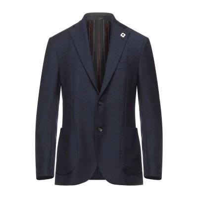 ラルディーニ LARDINI テーラードジャケット ダークブルー 50 ウール 100% テーラードジャケット