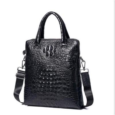 ビジネスバッグ メンズ 本革 ブリーフケース ショルダー ハンドバッグ 通勤鞄 出張 斜めがけ 肩掛けバッグ 上層牛革 A4 PC対応