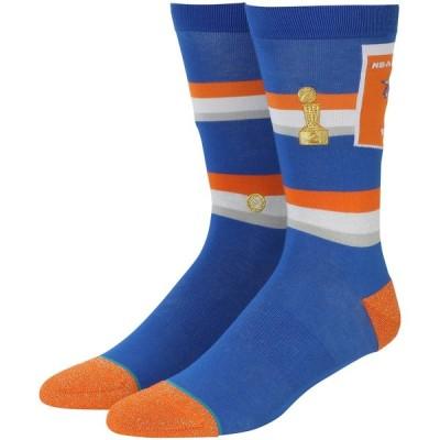 """メンズ ソックス """"New York Knicks"""" Stance Trophy Banner Crew Socks"""