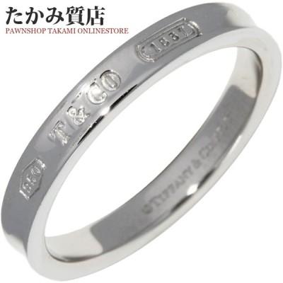 ティファニー Pt950 1837バンドリング 幅3ミリ 指輪