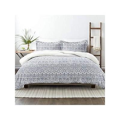Linen Market Premium Ultra Soft Modern Rustic Pattern 3 Piece Reversible Du好評販売中