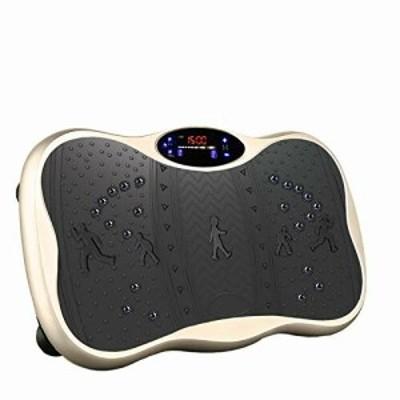 振動マシン ぶるぶる フィットネス マシン ミニ シェイカー 99段階5モード Bluetooth音楽機能 ダイエット