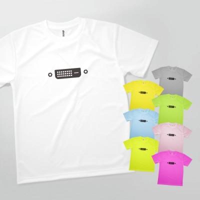 Tシャツ DVI端子 繋げて端子