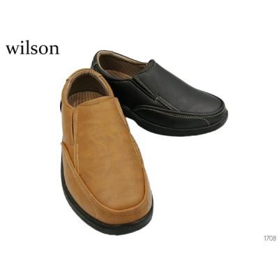 ウィルソン Wilson 1708 ウォーキングシューズ スリッポン 靴 メンズ