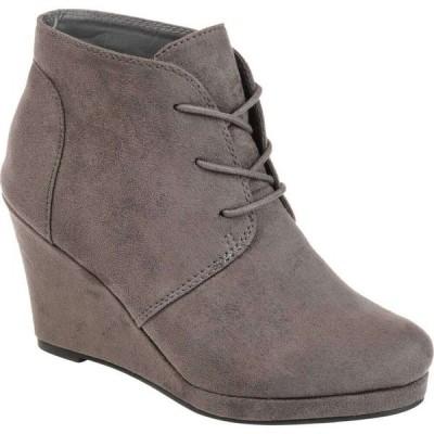 ジュルネ コレクション Journee Collection レディース ブーツ シューズ・靴 Enter Bootie Grey