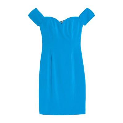 BADGLEY MISCHKA ミニワンピース&ドレス アジュールブルー 10 ポリエステル 98% / ポリウレタン 2% ミニワンピース&ドレス
