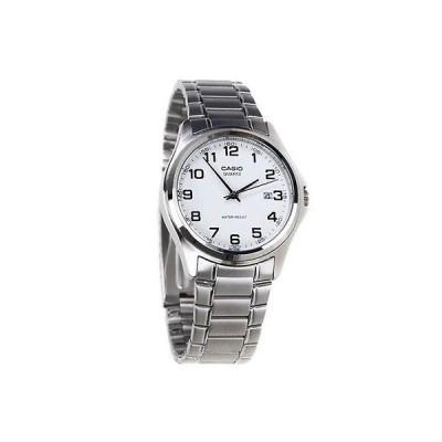 カシオ 腕時計  Casio MTP1183A-7B メンズ ステンレス スチール アナログ ドレス 腕時計 ホワイト ダイヤル