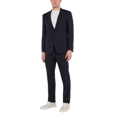 カナーリ CANALI スーツ ダークブルー 50 ウール 100% スーツ