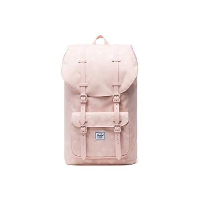 Herschel Little America Laptop Backpack, Polka Cameo Rose/Rubber, Mid-Volume 17.0L 並行輸入品