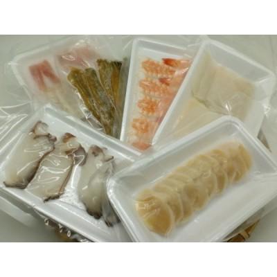 6種 寿司ネタ 満足寿司ネタセット 海老 穴子 水たこ スルメイカ 赤海老開き ほたて貝柱開き 各10枚 キット すしねた 生食用 海鮮丼