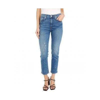 Hudson Jeans ハドソン ジーンズ レディース 女性用 ファッション ジーンズ デニム Barbara High-Waist Crop Straight in Balance - Balance