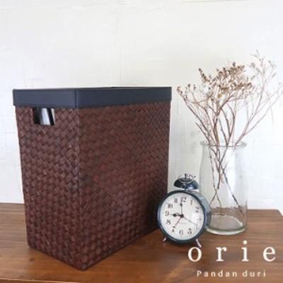 orie オリエ スクエアダストボックス  91920006  ナチュラル雑貨 インテリア ゴミ箱 リビング 寝室 韓国 イン