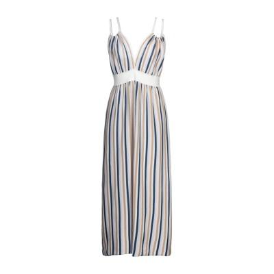 サンシックスティエイト SUN 68 ロングワンピース&ドレス アイボリー S コットン 100% ロングワンピース&ドレス