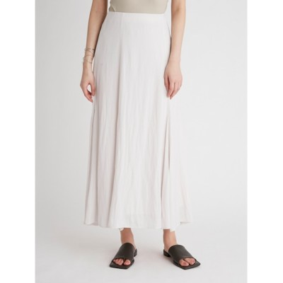 【ミラオーウェン/Mila Owen】 マチフレアステッチデザインナロースカート