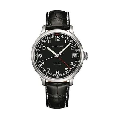 Longines ヘリテージミリタリー GMT メンズ 自動腕時計