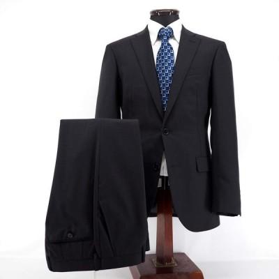 LONNER ロンナー スーツ シングル ノータック ブルーステッチ インポート生地 ウール LL メンズ ファッション 服 カジュアル 日本製 秋