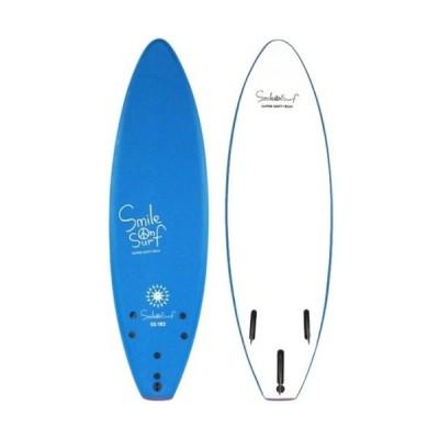 【営業所止め 送料込み(一部地域除く)】 【訳ありのため格安】 【サーフボード】SMILE ON SURF(スマイルオンサーフ) SOFT BOARD(ソフトボード)6フィート【750】
