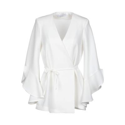 カオス KAOS シャツ ホワイト 44 ポリエステル 91% / ポリウレタン 9% シャツ