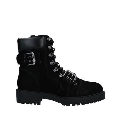 CARVELA ショートブーツ ブラック 37 合成繊維 ショートブーツ